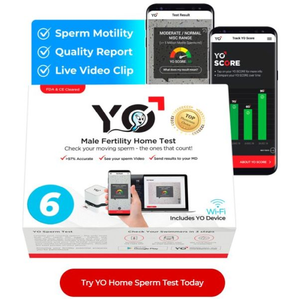 At Home Sperm Count Test Semen Analysis Kit